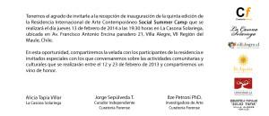 SSC5 - invitacion recepcion